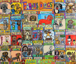 """""""Famous Dogs"""" by Adam Hines"""