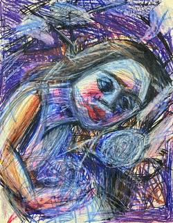 """""""Melancholy Girl"""" by Michael Smith"""