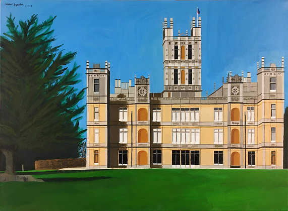 """Highclere Castle"" by Janno Juguilon"