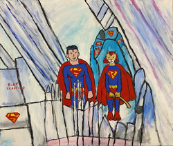 """""""Super Ruby Cat in the Fortress of Solitude"""""""