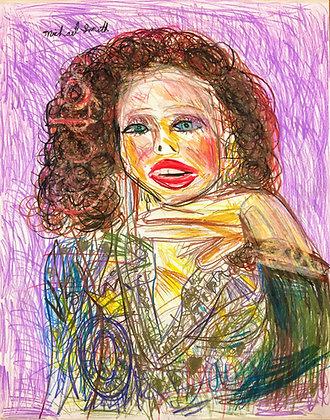 """Sparkle Blazer Babe"" by Michael Smith"