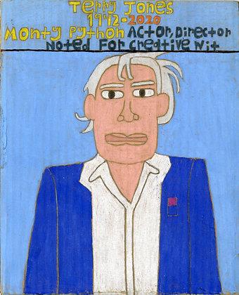 """Terry Jones"" by David Holt"