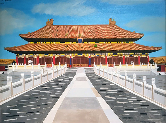"""The Forbidden Palace"" by Janno Juguilon"