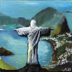 """""""Christ the Redeemer"""" by Alfred Banks"""