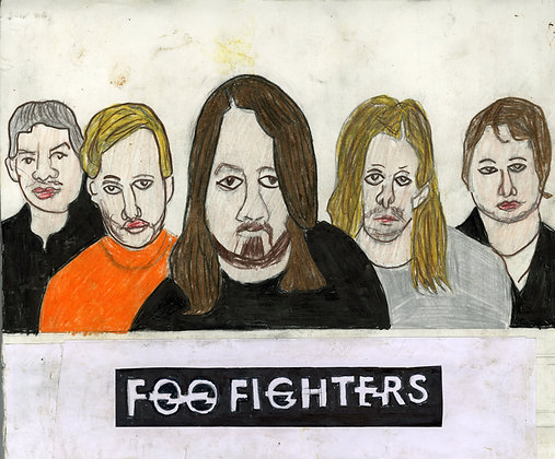 """""""Foo Fighters"""" by Ricky Willis"""