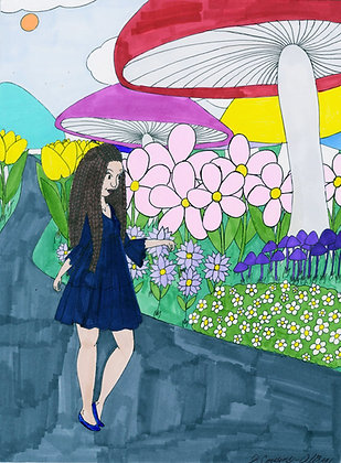 """Floral Fantasy"" by Jacqueline Cousins Oliva"
