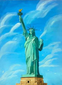 """Lady Liberty"" by Janno Juguilon"