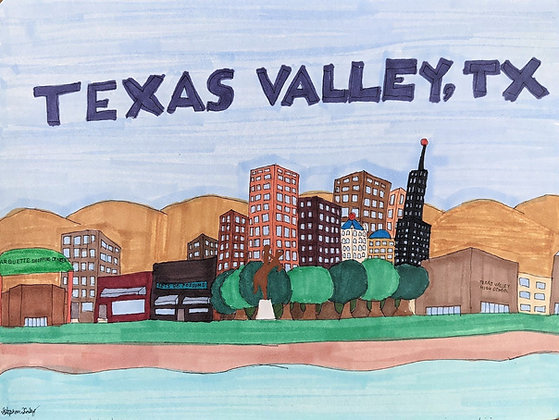 """""""Texas Valley"""" by Stephon Doby"""