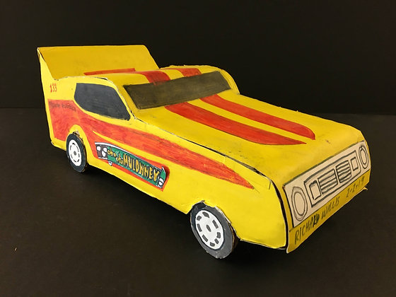 """""""Cha Cha Muldowney's Race Car"""" by Ricky Willis"""