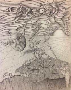 """Seated Nude"" by Paul Kowalewski"