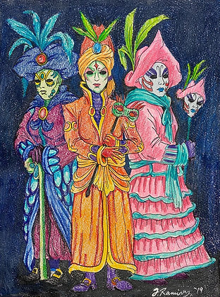 """Carnival Costumes"" by Fernando Ramirez"