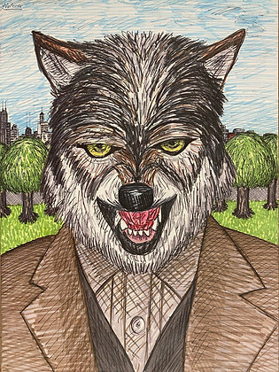 """Wolf Man"" by Louis DeMarco"