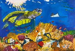 """Swim Through the Reef"" by Ruby Bradford"