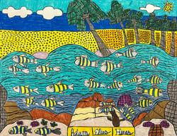 """School of Fish"" by Adam Hines"