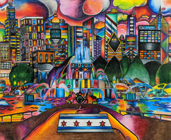 """Buckingham Fountain"" by Dijon Barrett"