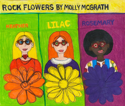 """""""Rock Flowers Band"""" by Molly McGrath"""