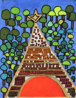"""Eiffel Tower"" by Safiya Hameed"
