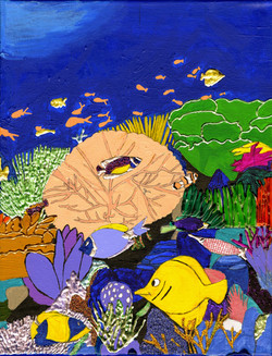 """""""Underwater Tropic"""" by Jacqueline Cousins Oliva"""
