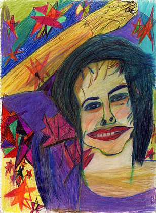 """Woman and Stars"" by David Blaisdell"