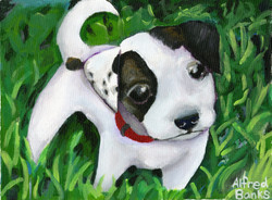 """""""Puppy-dog Eyes"""" by Alfred Banks"""