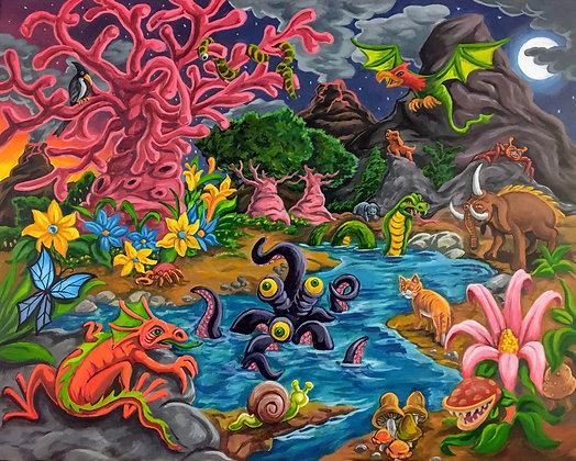"""""""Prehistoric Fantasy"""" by Fernando Ramirez"""