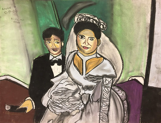 """Bride and Groom"" by George Zuniga"