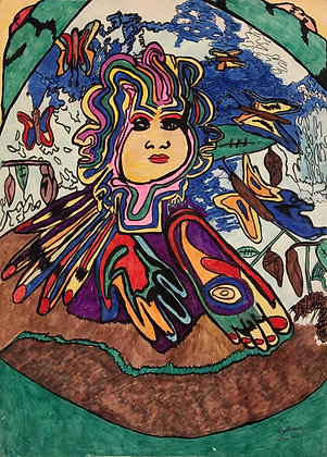 """""""Mother Earth"""" by CM Butterfly"""