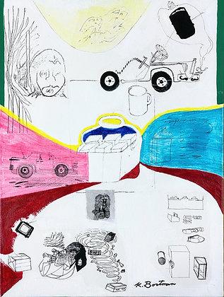 """""""Untitled (Ideas)"""" by Ken Bortman"""