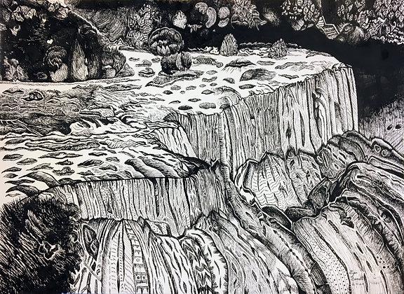 """""""Niagra Falls"""" by Dijon Barrett"""