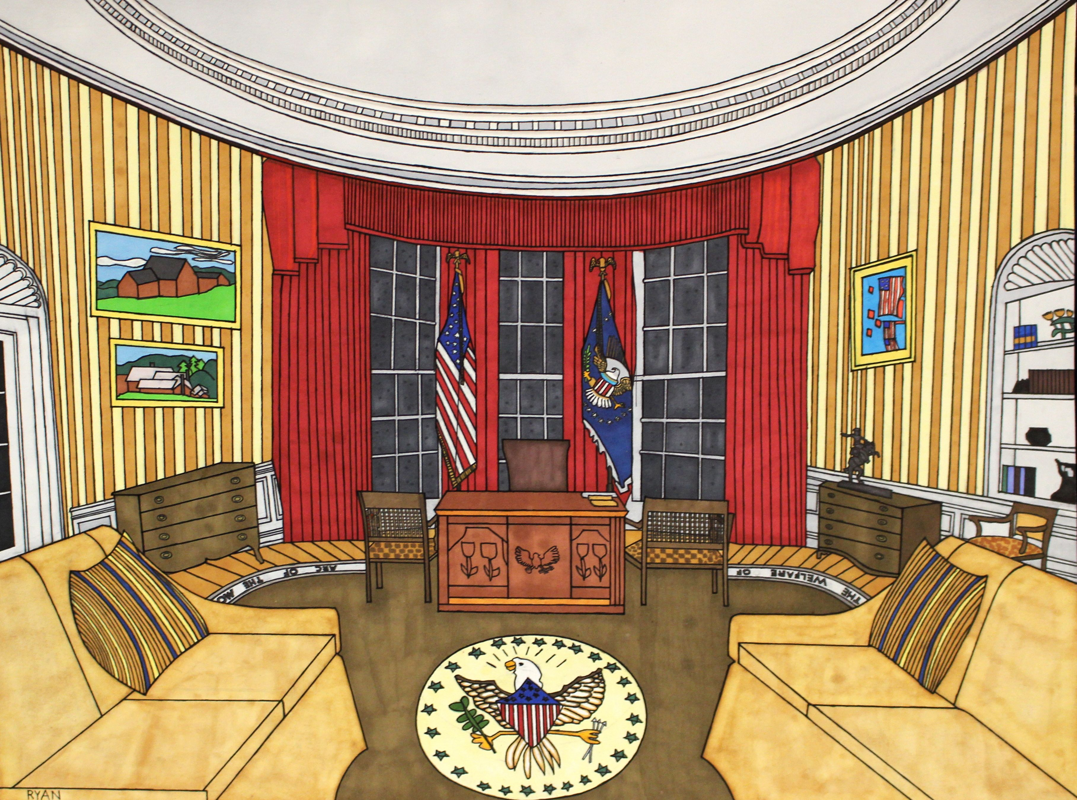Ryan Tepich Oval Office