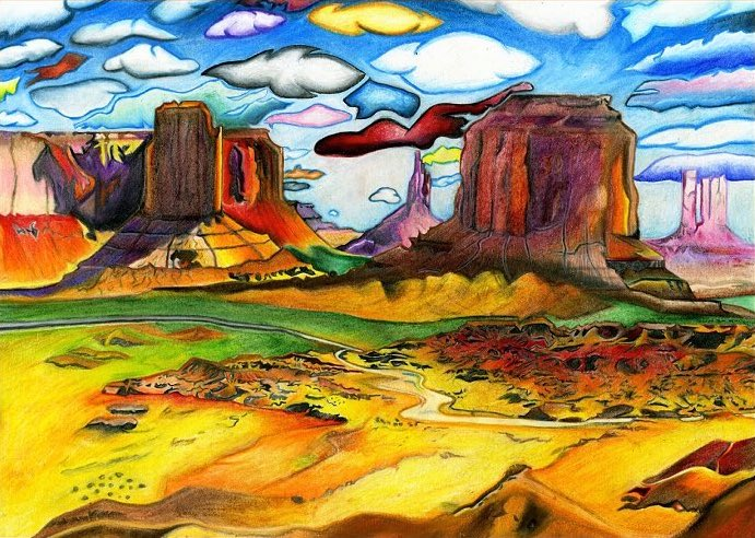 Dijon Barrett - Monument Valley