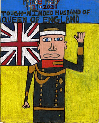 """""""Prince Philip"""" by David Holt"""
