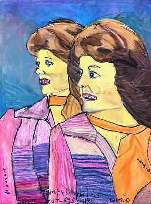"""Smith Twins"" by George Zuniga"