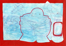 """""""Untitled (Red Outline)"""""""