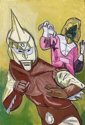 """Spector Man"" by George Zuniga"