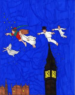 """Peter Pan Over Big Ben"" by Matthew Bianchi"