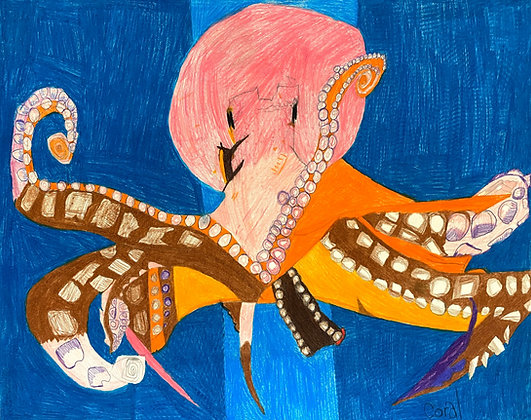 """""""Octopus"""" by Coral Kappel"""