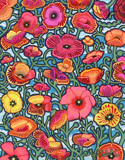 """Poppies"" by John Behnke"