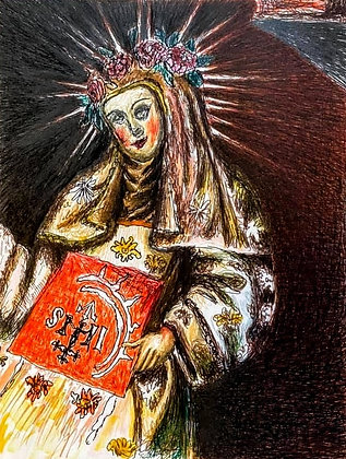 """Mother of God"" by Luke Shemroske"