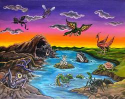 """Monster World"" by Fernando Ramirez"