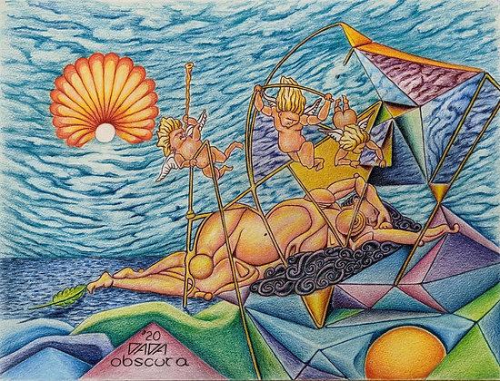 """Birth of Venus"" by Paul Kowalewski"