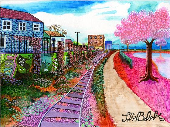 """""""Train Tracks"""" by John Behnke"""
