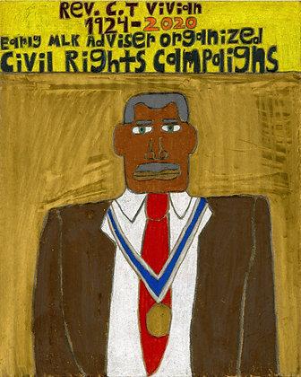 """Rev. CT Vivian"" by David Holt"