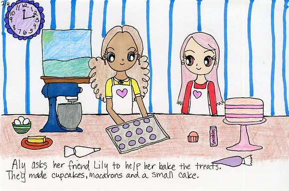 """Ally and Lily Make Treats"" by Dana Baker"