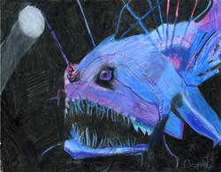"""Angler Fish"" by Coral Kappel"