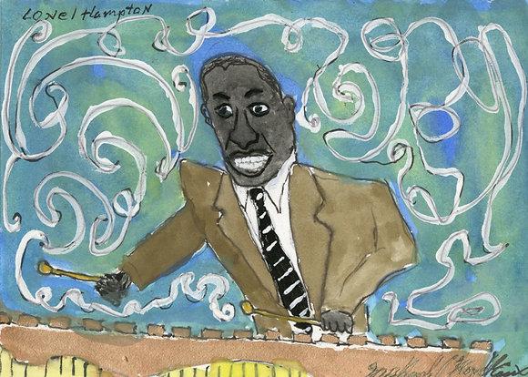 """Lionel Hampton"" by Michael Hopkins"