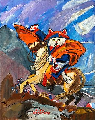 """""""Napoleon Cat"""" by Ruby Bradford"""