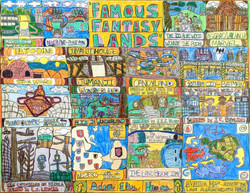 """""""Famous Fantasy Lands"""" by Adam Hines"""