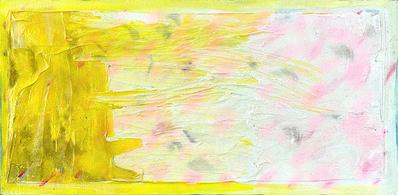 """Untitled (Yellow)"" by Ken Bortman"