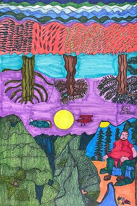 """The Golden Magic Land"" by Allen McNair"